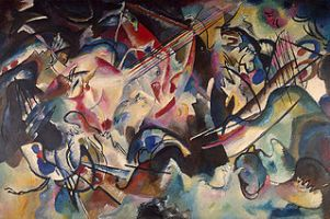 Kandinsky's Composition VI